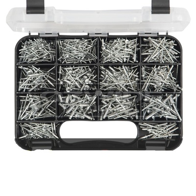 605 piece Aluminium Rivet Grab Kit