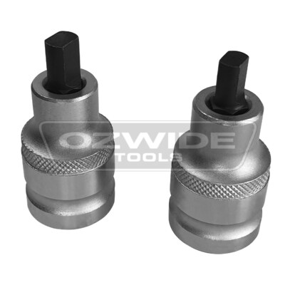 Universal 2 Piece Shock Absorber Ram Spreader Socket Kit