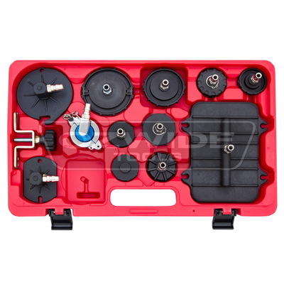 Brake Master Cylinder Pressure Bleeding Adaptor Kit (12 Piece)