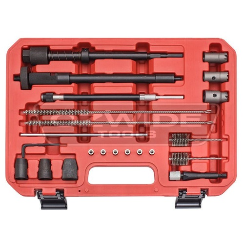 Universal Injector Seat Reaming and Cleaning Master Tool Kit
